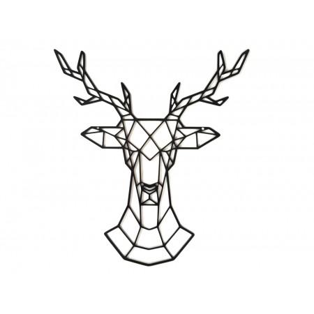 "Dekoracja z metalu 3D ""Deer"""