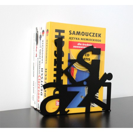 "Stojak na książki ""Książki"""