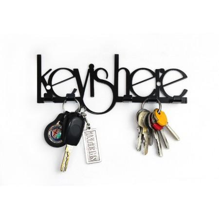 "Wieszak na klucze ""Key is here"""