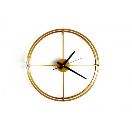 """Zegar loftowy """"MONO light"""" złoty"""