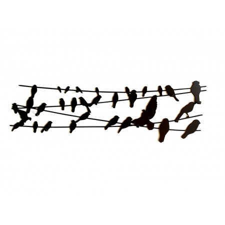 "Wieszak na ścianę ""Bird on Wire"""