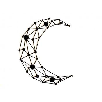 """Wieszak geometryczny z metalu """"Moon"""""""