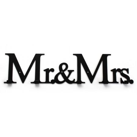 """Wieszak do przedpokoju """"Mr & Mrs"""""""